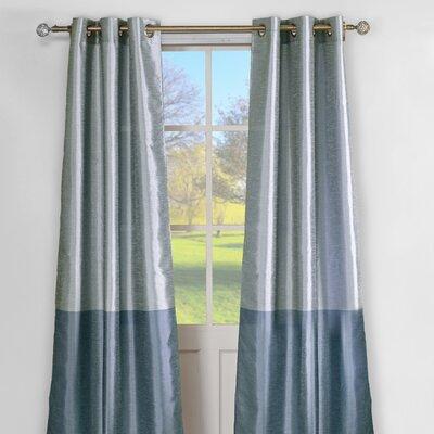 DR International Sabra Curtain Panel - Color: Aqua Blue