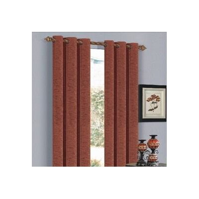 Saratoga Window Panel with 6 M-Grommets in Brick