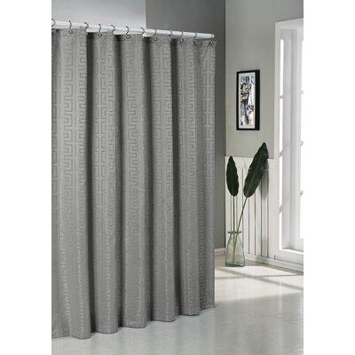 Schillman Shower Curtain Color: Charcoal