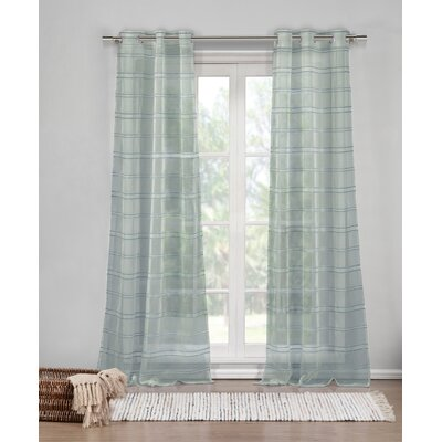 DR International Hampstead Window Curtain Panels (Set of 2) - Color: Silver