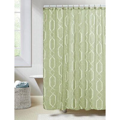 Arcadia Shower Curtain Color: Sage
