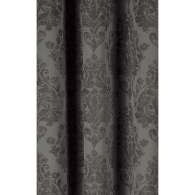 Phelan Blackout Thermal Curtain Panels Color: Black