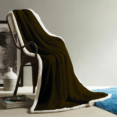 Andover Soft Throw Color: Chocolate