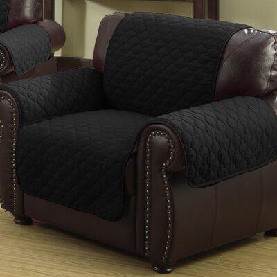 Rachel Armchair Cover Upholstery: Silver/Black