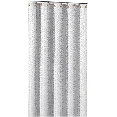 DR International Marty Polyester Shower Curtain - Color: White