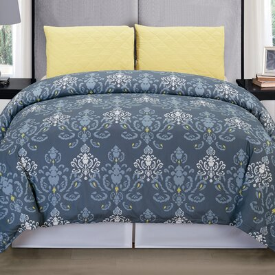 Lucienda 3 Piece Duvet Cover Set Size: Queen