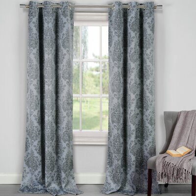 Phelan Blackout Thermal Curtain Panels Color: Gray
