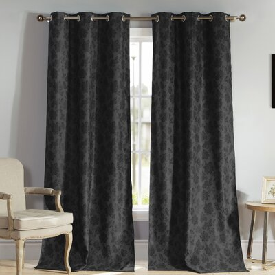 Aeryn Blackout Thermal Single Curtain Panel