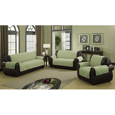 Reynold Reversible Sofa Cover Size: 88