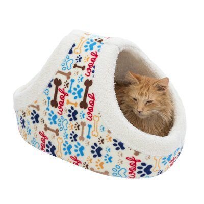 Myrna Pet Basket Color: Blue