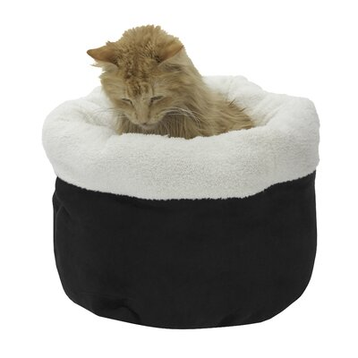 Barclay Pet Bed Color: Black