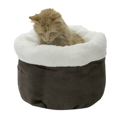 Barclay Pet Bed Color: Chocolate