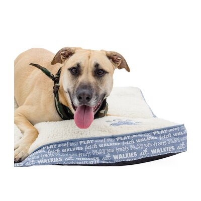 Chico Pet Mattress Color: Blue