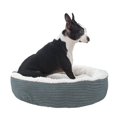 Caden Pet Bolster Size: Small (20 W x 20 D), Color: Gray