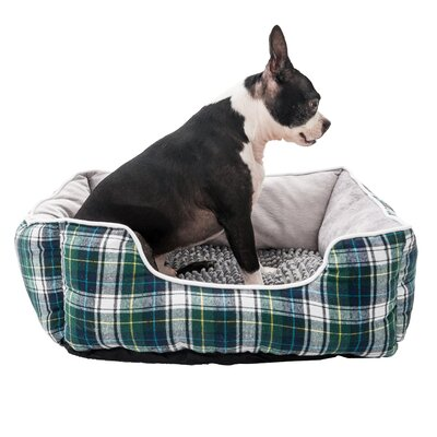Braxton Pet Bed Bolster Color: Gray, Size: Large (20 L x 8 W)