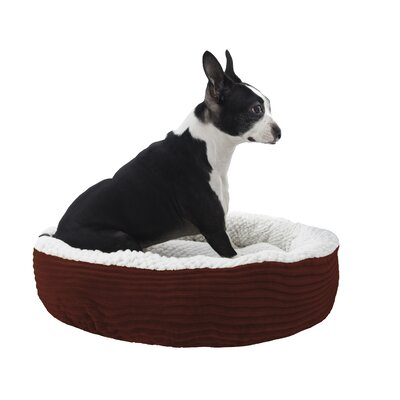 Caden Pet Bolster Size: Small (20 W x 20 D), Color: Red