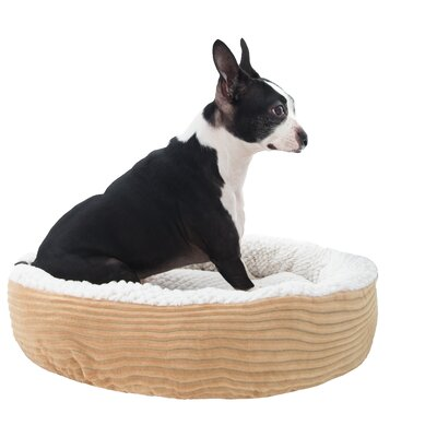 Caden Pet Bolster Size: Large (24 W x 24 D), Color: Taupe