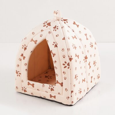 Nico Pet House Color: Beige