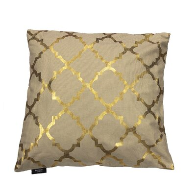 Holly Decorative Throw Pillow Color: Gold