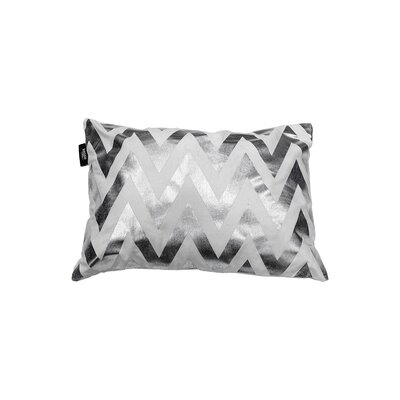 Arthurs Decorative Lumbar Pillow Color: White/Silver