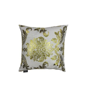 Oliver Decorative Throw Pillow Color: White/Gold