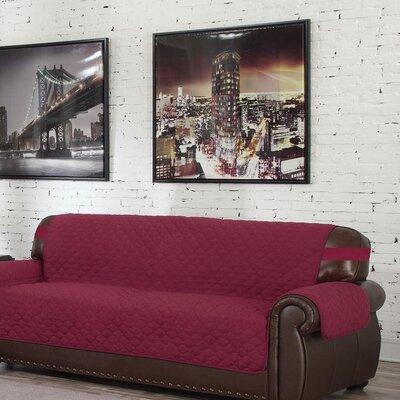 Reversible Waterproof Sofa Slipcover Upholstery: Garnet-Natural