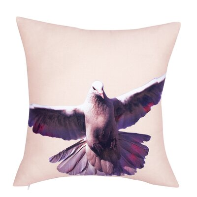 Crissman Bird 100% Cotton Throw Pillow