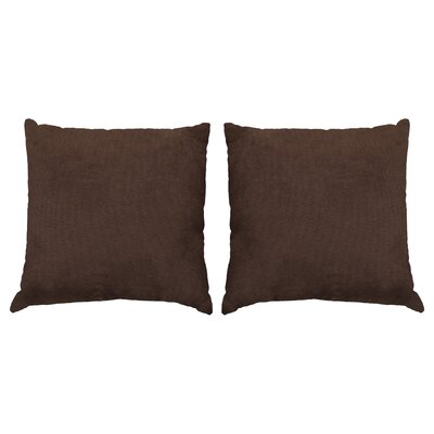 Ermont Decorative Throw Pillow Set Color: Brown