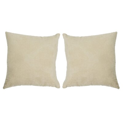 Ermont Decorative Throw Pillow Set Color: Gold