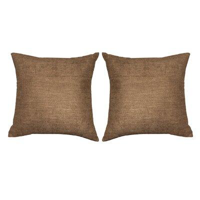 Ermont Decorative Throw Pillow Set Color: Khaki