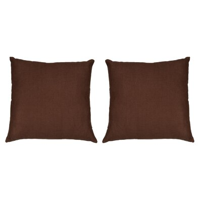 Ermont Decorative Throw Pillow Set Color: Light Brown