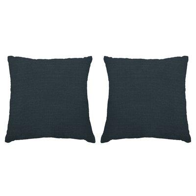 Ermont Decorative Throw Pillow Set Color: Slate Blue