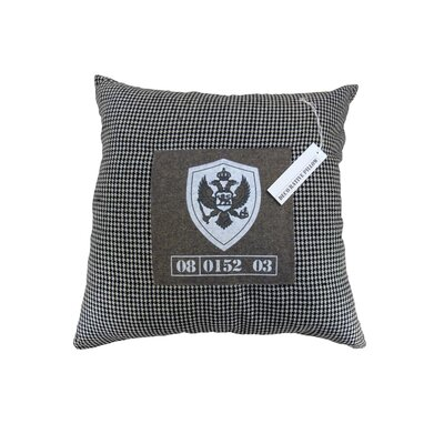 Ahmed Throw Pillow Color: Dark Gray