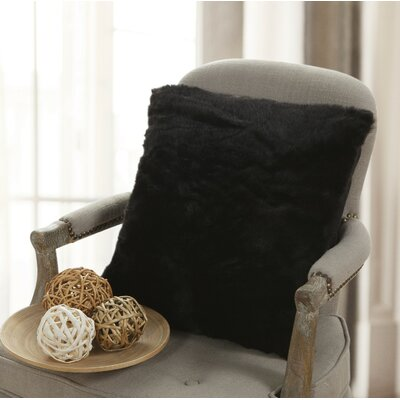 Engelman Fur Throw Pillow