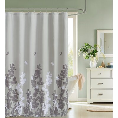 Lattimer Satin Look Shower Curtain