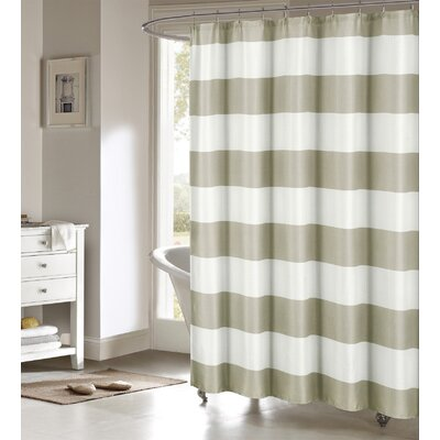 Ivanna Shower Curtain Color: Sand