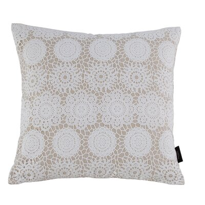 Jones 100% Cotton Throw Pillow Color: Taupe