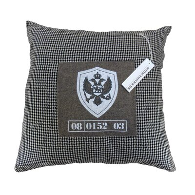 Ahmed Throw Pillow Color: Light Gray