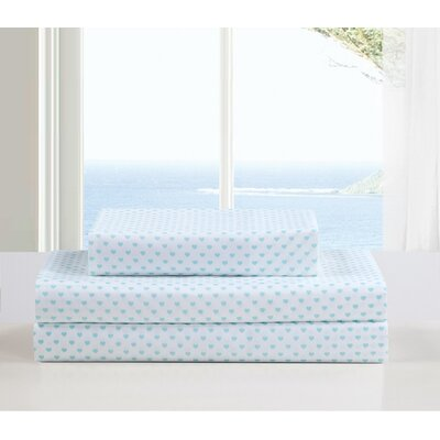 Kelly Lala Bash Sheet Set Color: Aqua, Size: Full