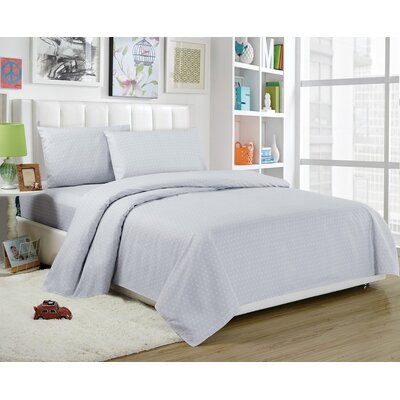 Daniella Sheet Set Size: Twin, Color: Gray
