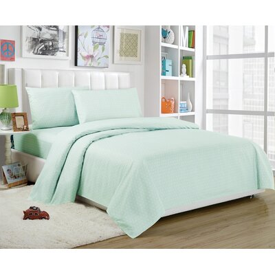 Daniella Sheet Set Color: Seafoam, Size: Twin