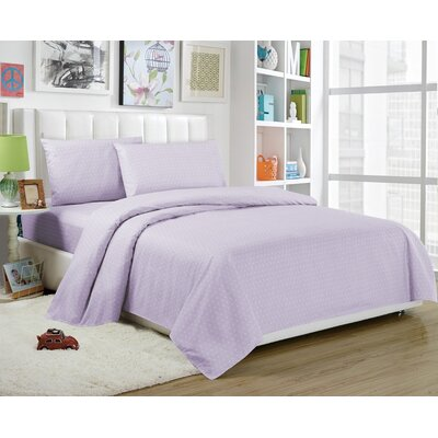 Daniella Sheet Set Size: Twin, Color: Lavender