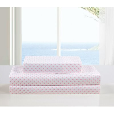 Kelly Lala Bash Sheet Set Color: Pink, Size: Twin