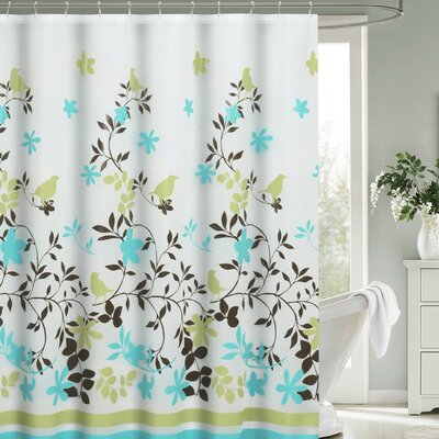 Anette Floral 13 Piece Shower Curtain Set
