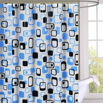 Anette Geometric 13 Piece Shower Curtain Set