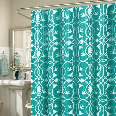 Laureldale 13 Piece Shower Curtain Set Color: Aqua Blue