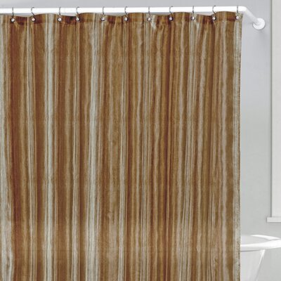 Lavelle Shower Curtain Color: Chocolate