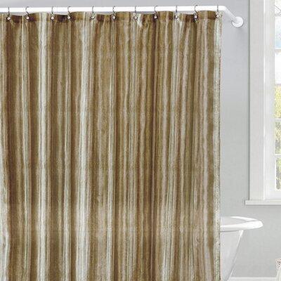 Lavelle Shower Curtain Color: Sage