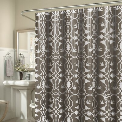 Laureldale 13 Piece Shower Curtain Set Color: Taupe