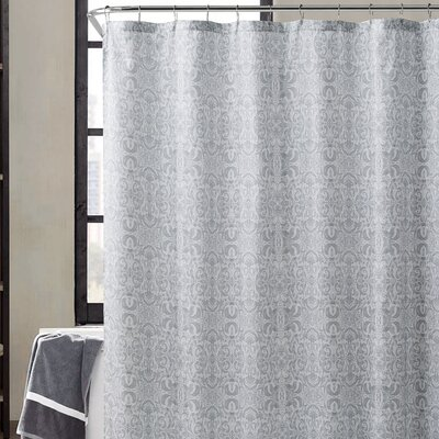 Romona Shower Curtain Color: Gray